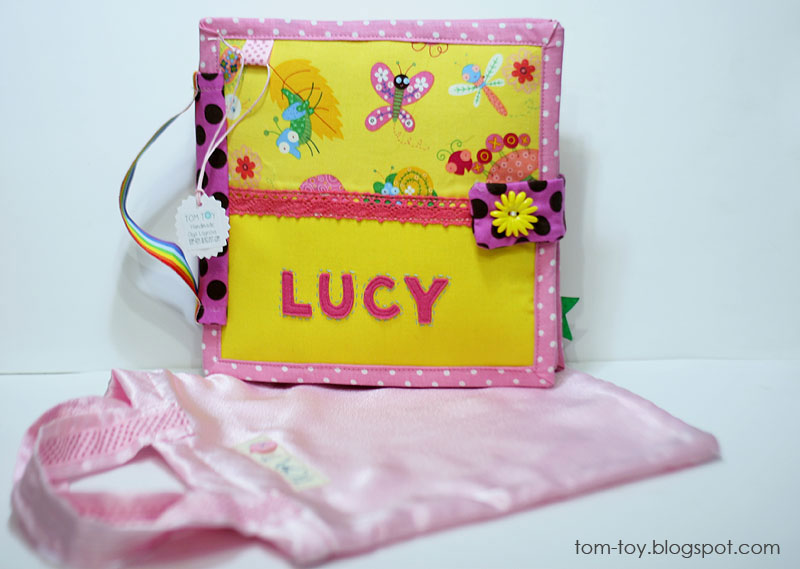Quiet book for Lucy