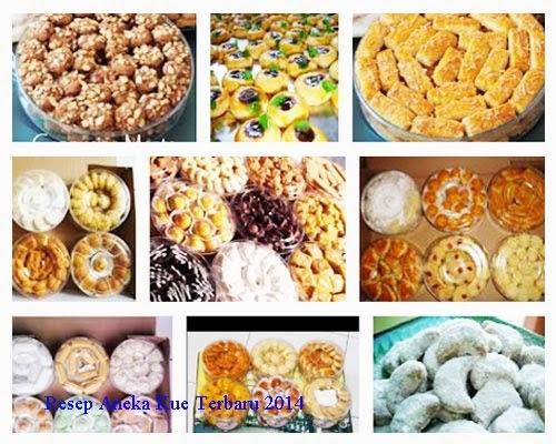 Berikut adalah beberapa daftar resep kue dan resep masakanterbaru yang