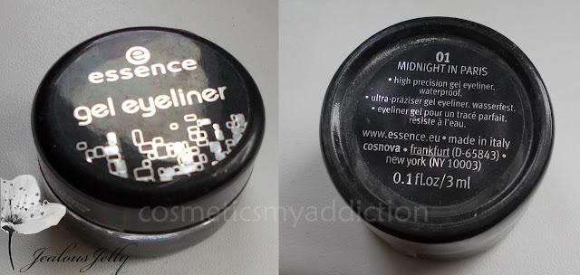 Essence, eyeliner w żelu 01