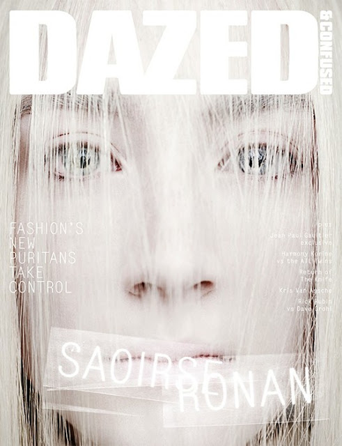 Saoirse Ronan by Rankin for Dazed & Confused 2013