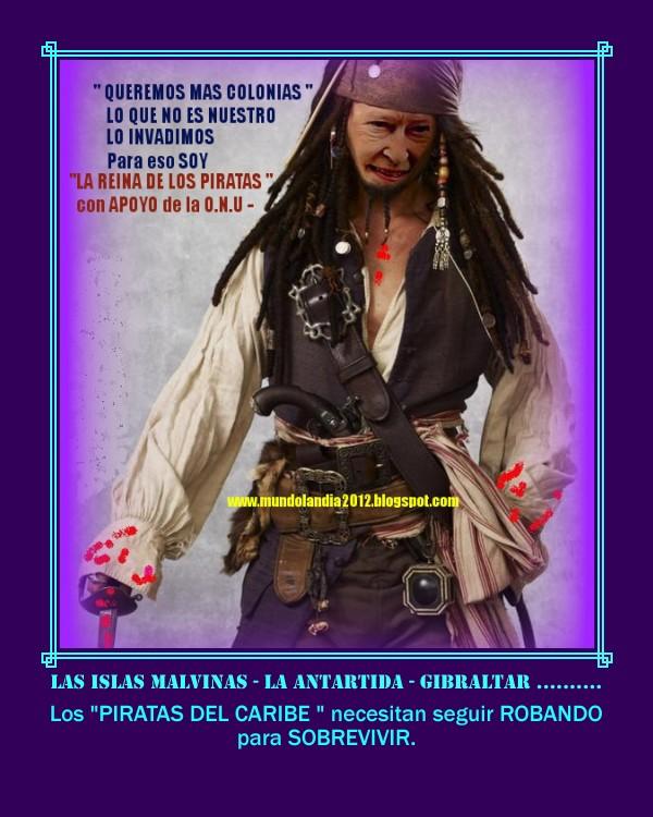 LOS PIRATAS DEL CARIBE - LOS INGLESES y SUS INVASIONES