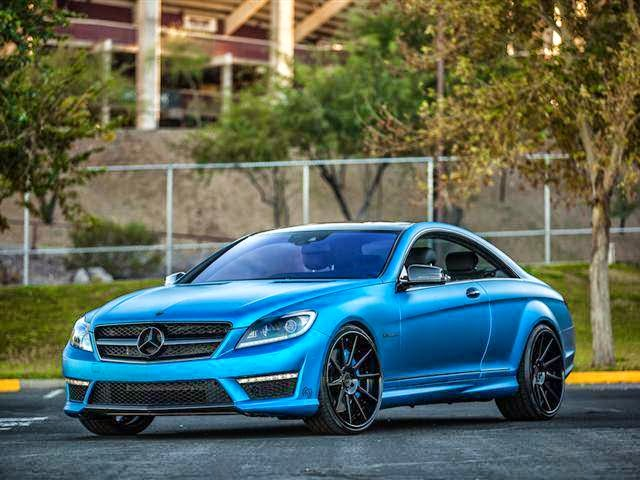 mercedes cl amg blue
