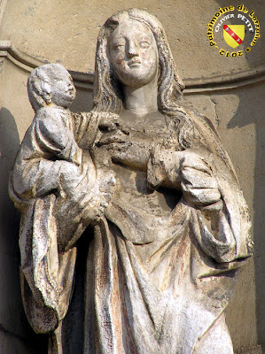 Pont-Saint-Vincent - Hopital Saint Bernard - Vierge à l'Enfant