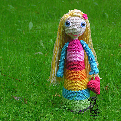 Magic with hook and needles, crochet patterns