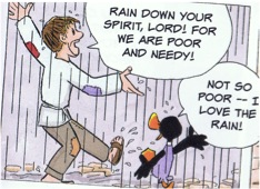 Cartoon from Saint Francis and Brother Duck