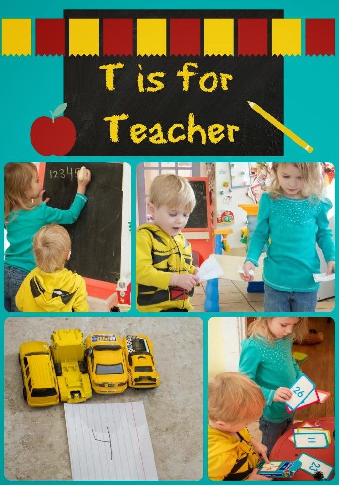 how to play teacher teacher at home