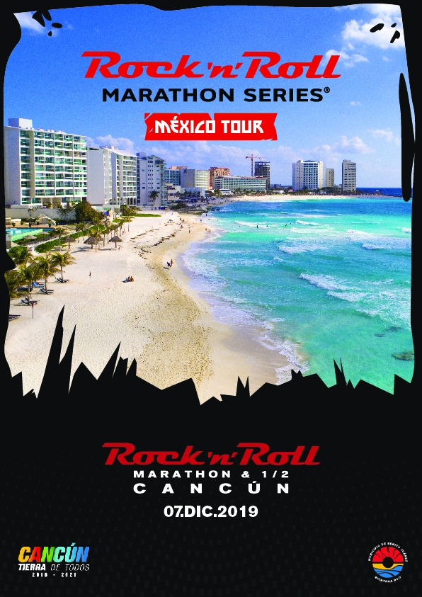 Maratón y 21k Rock´n´Roll Cancún 2019