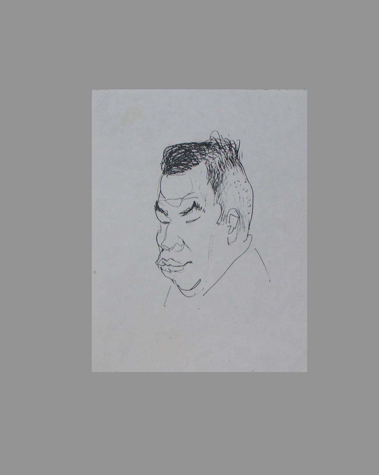 Retrato caricatura.