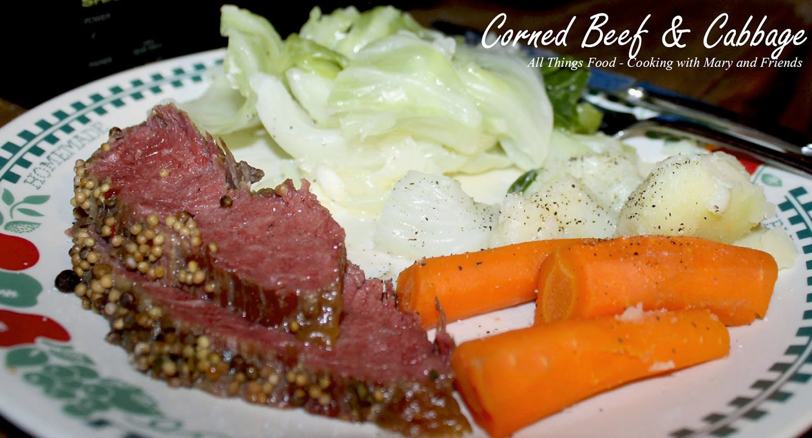 1 3 1 2 4 Lb Corned Beef Brisket With Seasoning Packet 5 6 Medium Carrots Peeled And Cut In Half 1 Large Onion Quartered