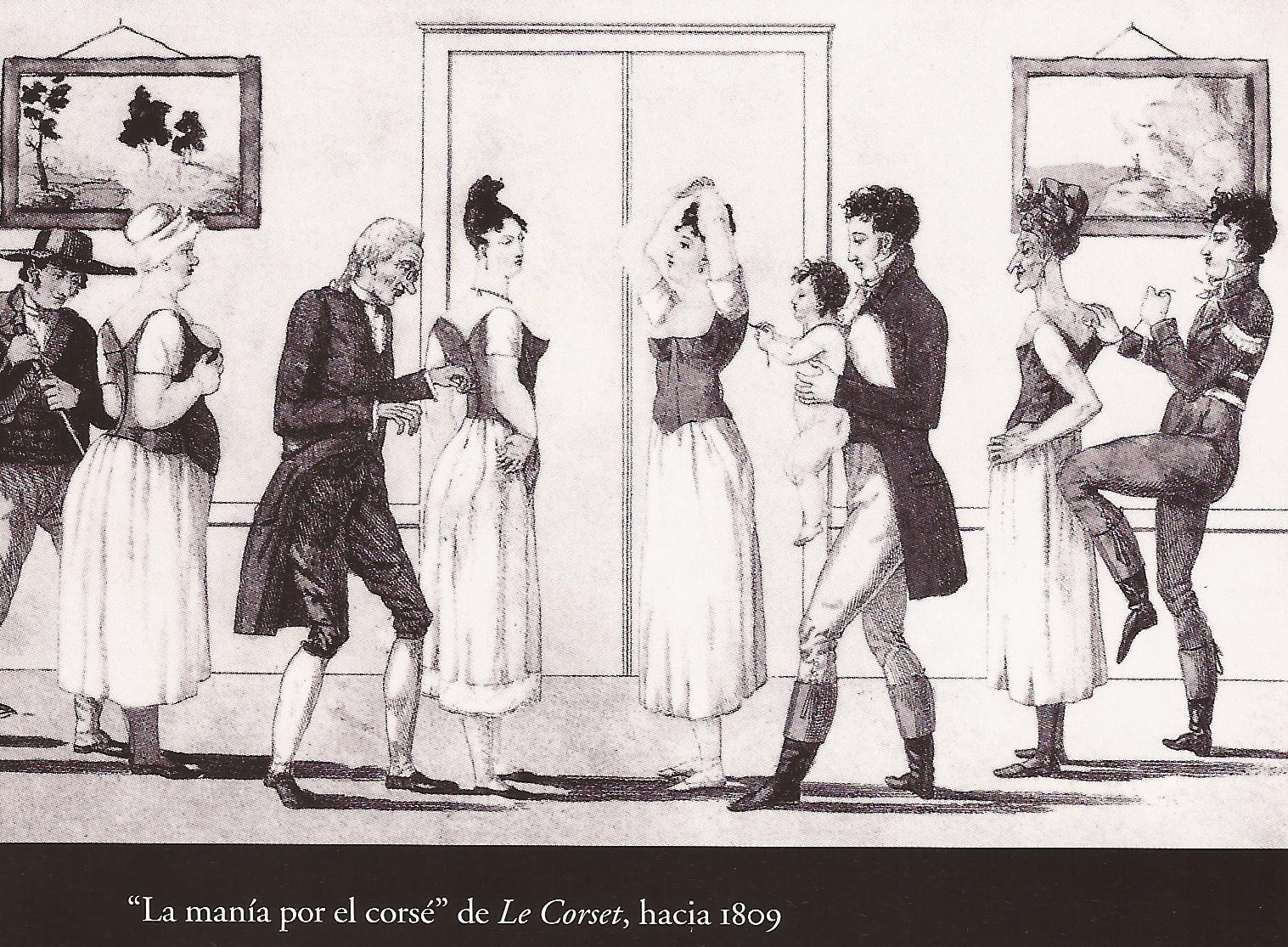 Moda de dos siglos atr s la ropa interior for Prendas interiores femeninas