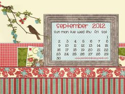 september 2012 desktop calendar thumbnail