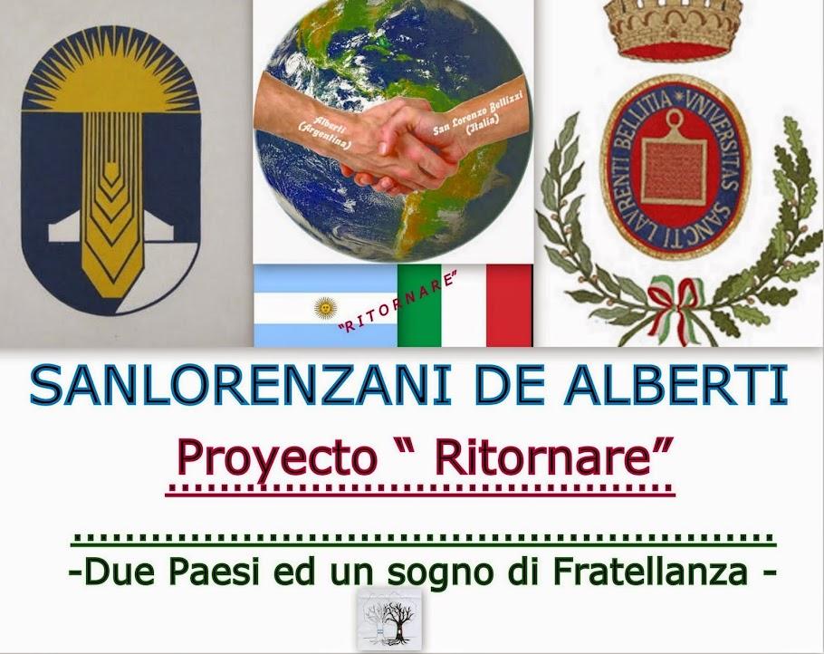 HERMANDAD ALBERTI (ARGENTINA ) -SAN LORENZO BELLIZZI  (ITALIA)