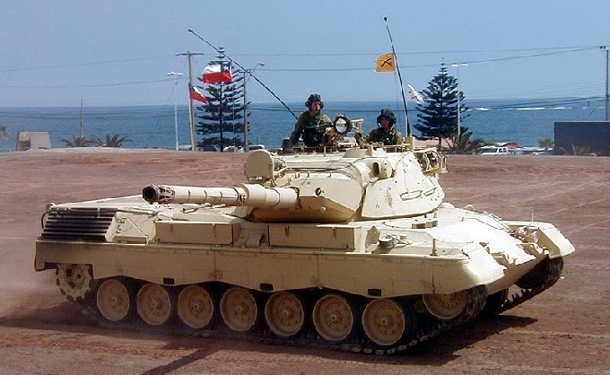Fuerzas Armadas de Chile Leopard+1A5+Chileno_6