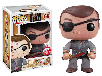 San Diego Comic-Con 2013 Exclusive Blood Splattered The Governor The Walking Dead Pop! Television Vinyl Figure by Funko