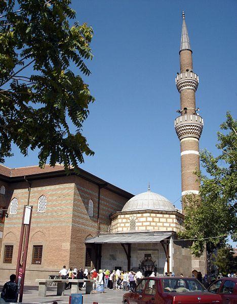 Hacı bayram câmii ankara nın ulus semtinde bulunan tarihi camii