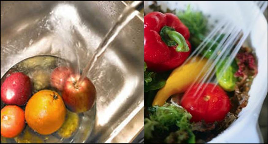 Las frutas y verduras pueden estar contaminadas por gérmenes dañinos ...