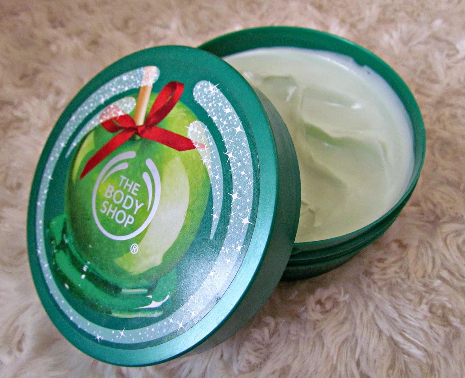 Body Shop Golden Apple Body Butter Glazed Apple Body Butter