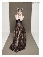 Dakota Fanning strikes a pose in a glamorous dress