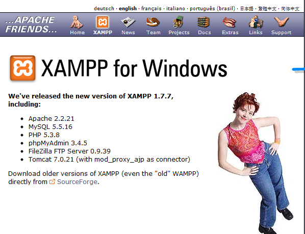How to install xampp