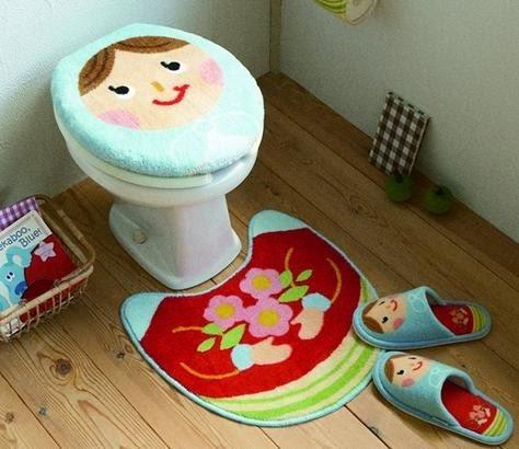 Moldes para jogo de banheiro de tecido