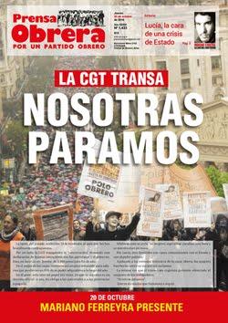 - - - - - - - Prensa Obrera Nº 1433 - - - - - - -