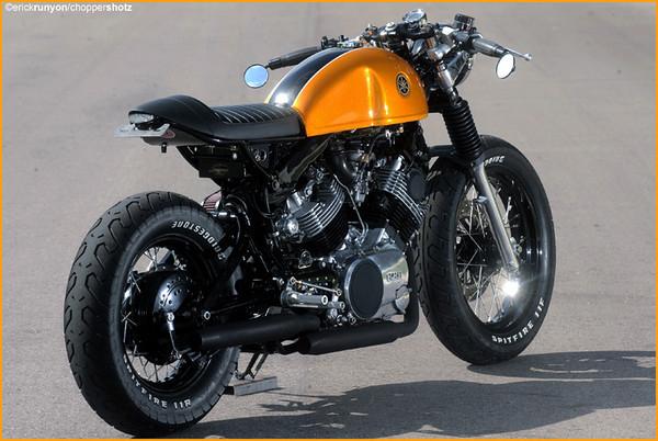 Que La Yamaha Virago No Es Una Moto Demasiado Agraciada Novedad Por Eso Trabajos Como El Ha Desarrollado Greg Hageman Sobre Su Base Merecen