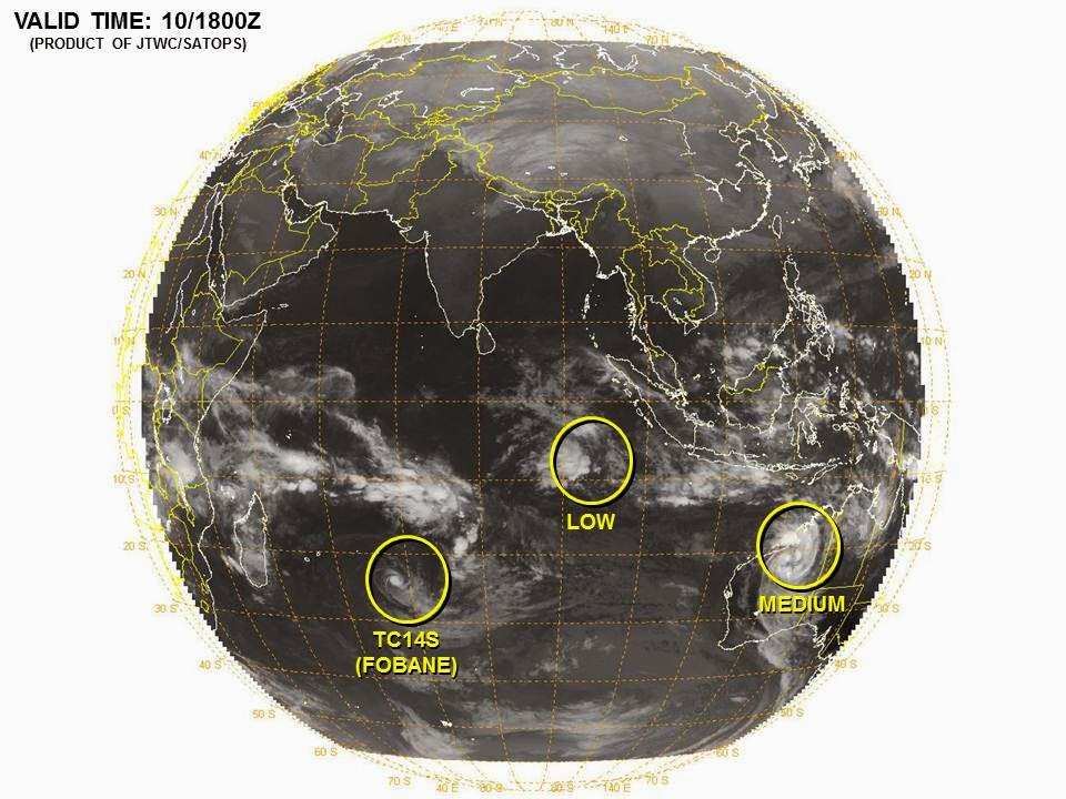 Image satellite de 99S.INVEST