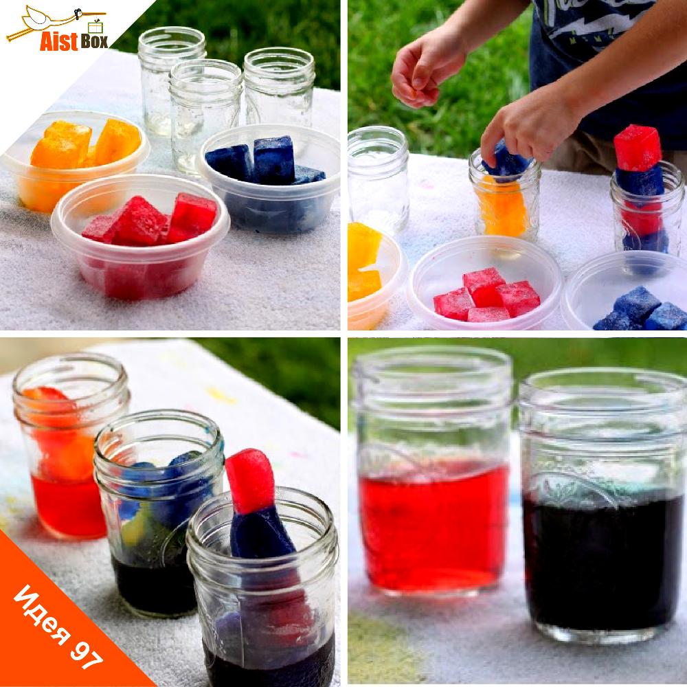 Как сделать краситель для воды