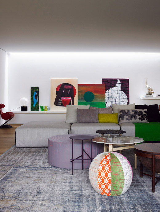 Patrizia Moroso house by Patricia Urquiola (via nestpearls.blogspot.fr)
