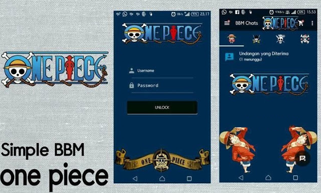 Download App BBM Mod Themes One Piece Simple  Download App BBM Mod Themes One Piece Simple 2.10.0.35