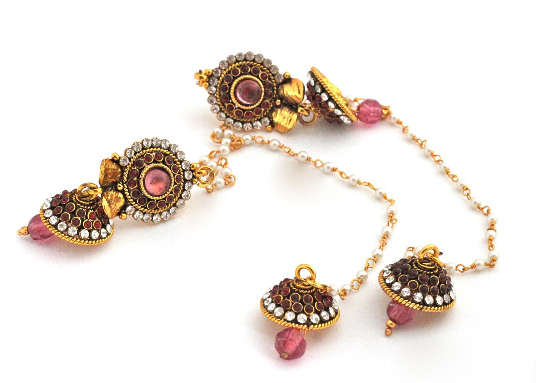 Elegance of living: Kashmiri Earrings Designs