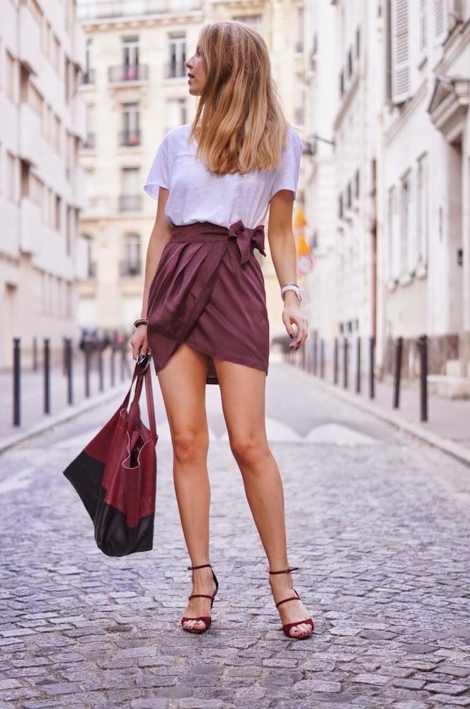 isabel marant, skirt, american vintage, proenza schouler, céline, parisienne, chic, streetstyle, fashion blogger
