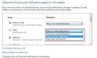 Cara Menghilangkan Notifikasi Get Windows 10