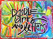 """DOODLE ARTS AND LETTERING"" online class"