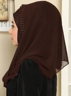 Model hijab turban modern terbaru siap pakai tampa ribet