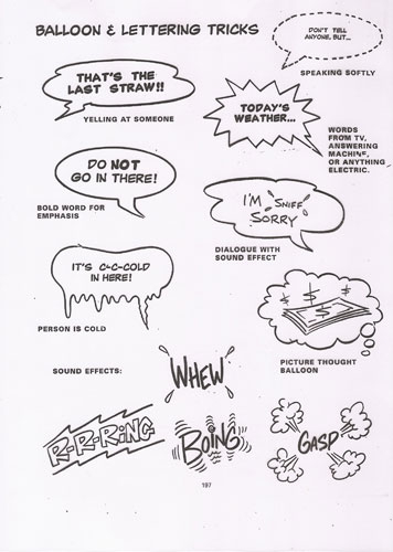 Rediscover Cartooning Cartooning Tip Bits Speech Bubbles