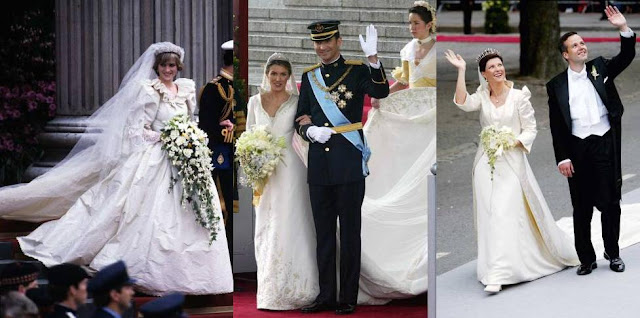 Nail Art: Royal Wedding Dresses Through The Years