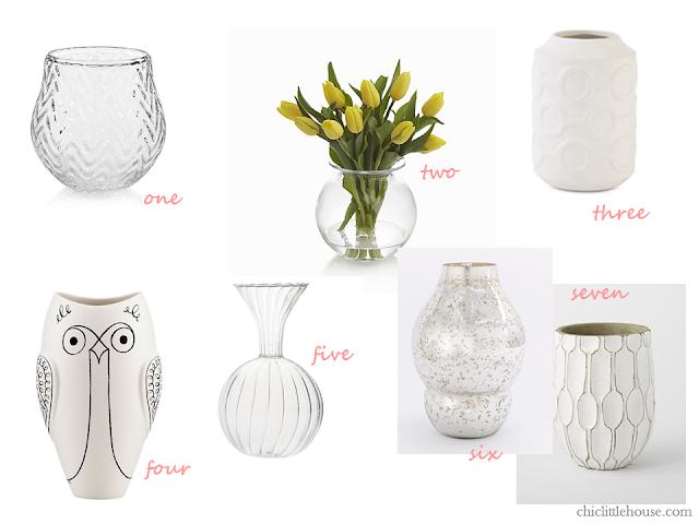 Favorite Vases for Flowers