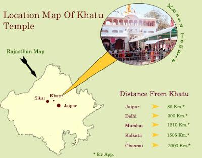 Shri Khatu Shyam Ji Temple in Sikar
