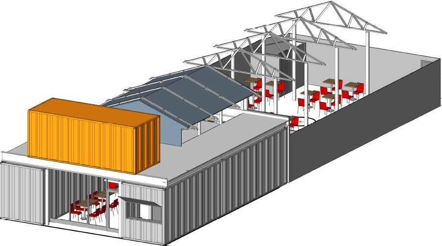 Eastshawdc Quot Container Quot Store Proposed For 919 U Street