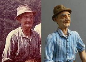 statuine somiglianti persone vere presepe regali originali natale orme magiche