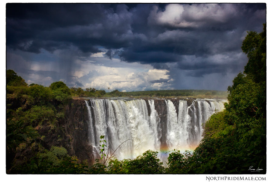 Landscapes and physical geography of victoria falls zimbabwe during thunderstorms the convection form of precipitation occurs the dew point can reach 100 through evaporation of the victoria falls and zambezi river publicscrutiny Images