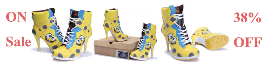 SpongeBob high heels