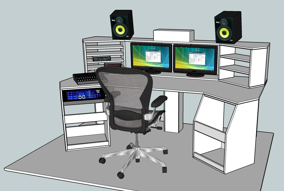 my final design - Desk Design Software