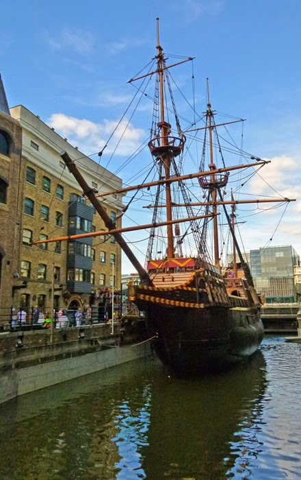 Golden Hind, Bankside, St Mary Overie, around London Bridge