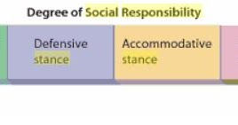 obstructionist approach to social responsibility Four practical approaches there are four approaches to implement social  responsibility: obstructionist approach (economic responsibilities only), defensive .