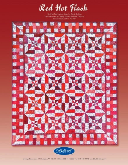 http://www.lovequilting.com/shop/free-patterns/red-hot-flashes/