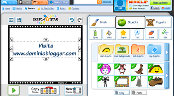 Sketch Star crea tus animaciones online y en pocos segundos