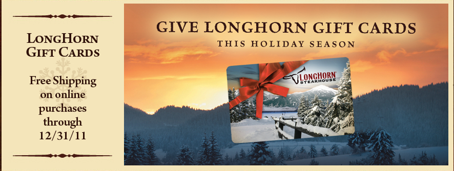 Extreme Couponing Mommy: BUY a $25 Longhorn Steakhouse Gift Card ...