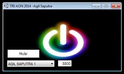 Inject Tri AON Agil Saputra 04 Oktober 2014
